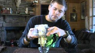 Aladdin Oil Lamp : Charring your wick for optimum performance