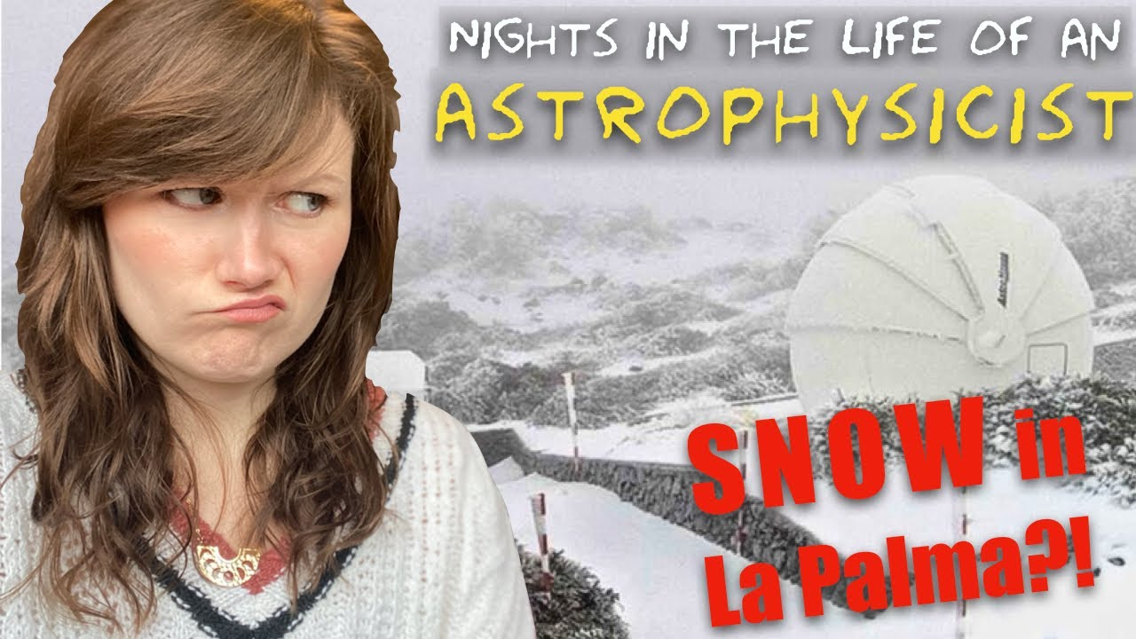 Nights in the life of an astrophysicist | Remote observing galaxies with a telescope in La Palma