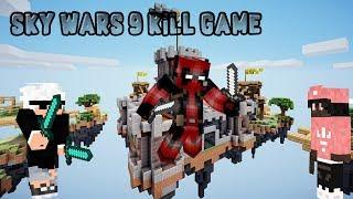 9 KILL GAME SKY WARS: Dansk Minecraft