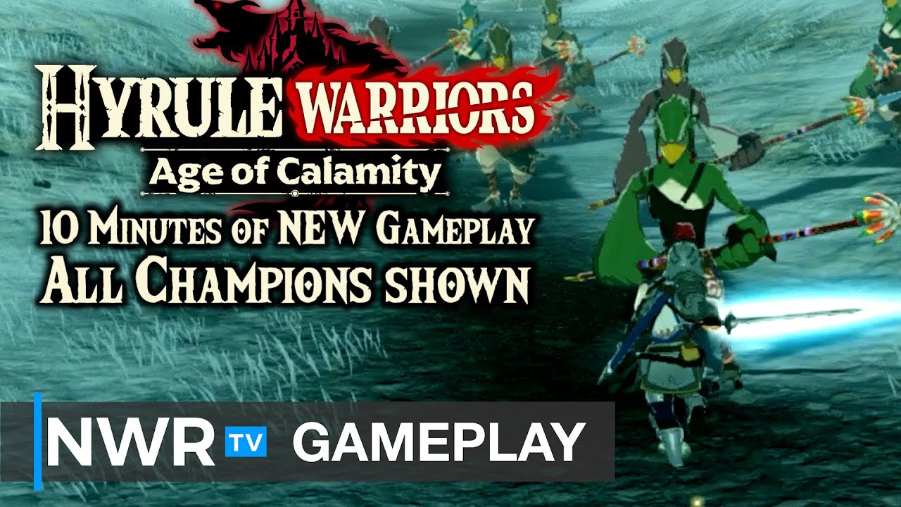 10 Minutes Of New Hyrule Warriors Age Of Calamity Gameplay Youtube