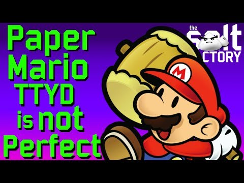Paper Mario TTYD is not perfect