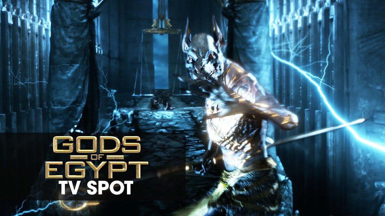 "Download Gods of Egypt (2016 Movie - Gerard Butler) Official TV Spot – ""Taking Over"""