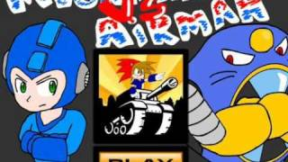 Megaman vs Airman.avi