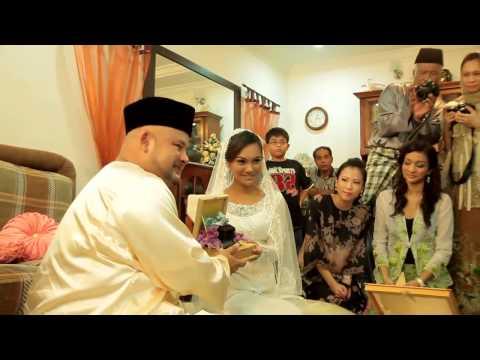 Harith Iskander Jezamine Wedding Highlight Youtube