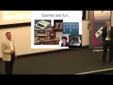 Let us play: Artificial and human intelligence in games