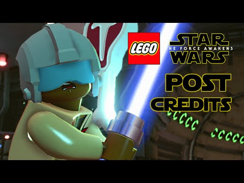 LEGO Star Wars: The Force Awakens Post-Credits Scenes / Outtakes