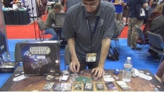 Eldritch Horror Board Game Demo from Designer Corey Konieczka at Gen Con