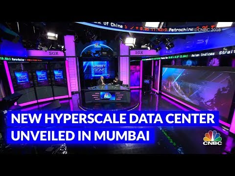 New hyperscale Data Center unveiled in Mumbai to meet growing Cloud Demands