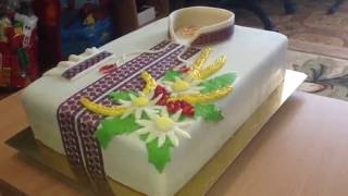 Торт Вишиванка(Торт Вишиванка., 2016-09-18T08:03:52.000Z)