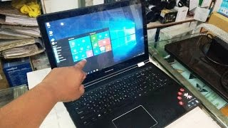 Unboxing Lenovo Yoga 500 Touch Laptop i7 1TB 8GB 2GB Review amp Hands