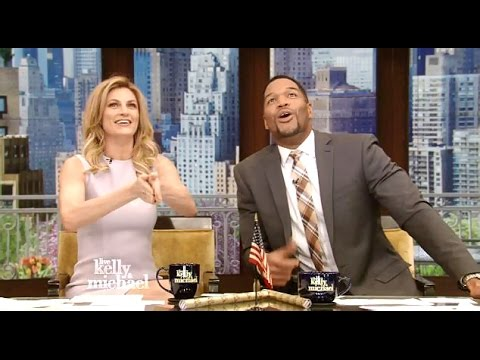 Erin Andrews Guest Co-Hosts Kelly & Michael (Chats DWTS 22)