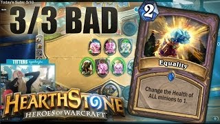 Hearthstone: Equality and the struggle.