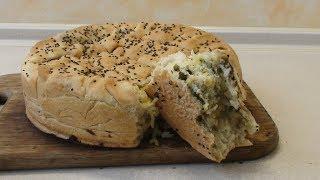 Пирог с картофелем и зеленью. Постный. Рекомендую не только постящимся!