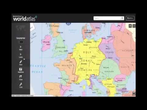 Rand McNally World Atlas YouTube - Rand mcnally online maps