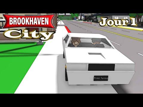 BROOKHAVEN CITY : LE SERVEUR COMPLETEMENT RP ! (JOUR 1)
