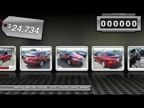 2016 Toyota Camry Houston TX GU608803. Sterling McCall ...