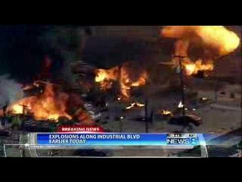 Car Show Dallas >> Welding Explosions in Dallas - YouTube