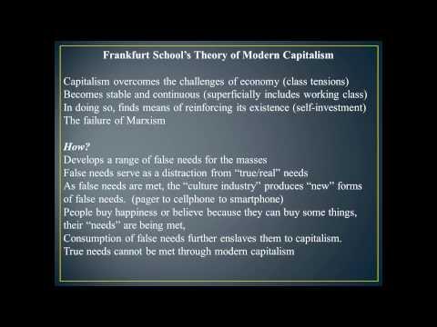 Module 08 - The Frankfurt School and Popular Culture Part 1