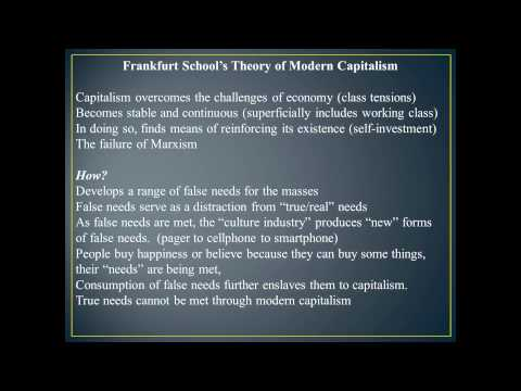 Module 08 - The Frankfurt School and Popular Culture Part 1