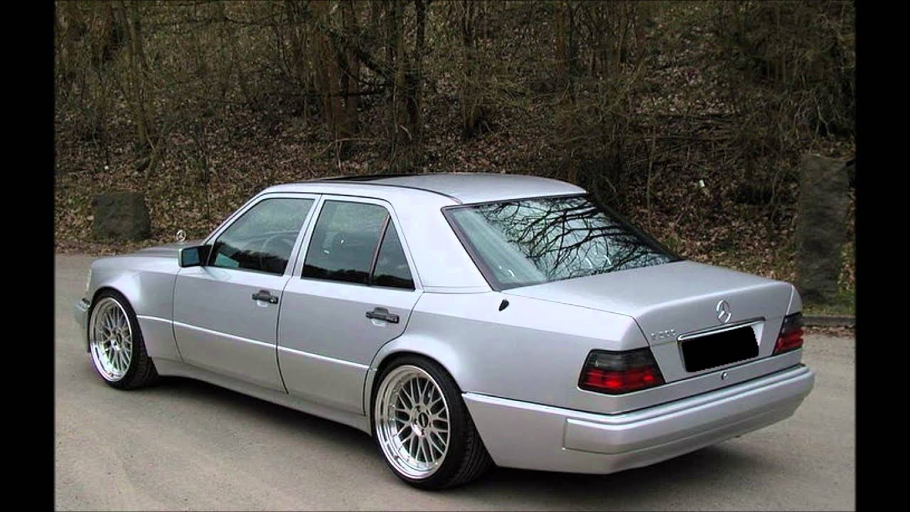 mercedes e class w124 tuning e500 body kit youtube. Black Bedroom Furniture Sets. Home Design Ideas