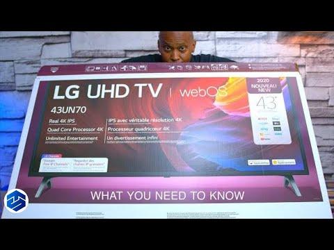 LG Smart TV UN7000 Series 4K UHD TV With IPS Panel (2020)