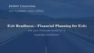Financial Planning For Exit