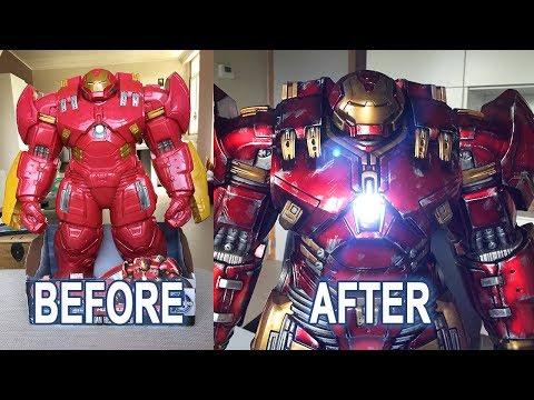 Custom Repaint Hasbro Hulkbuster Makeover - Diorama Builders