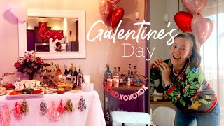 Galentine's day party shop & decorate with me! | favors decor 2020