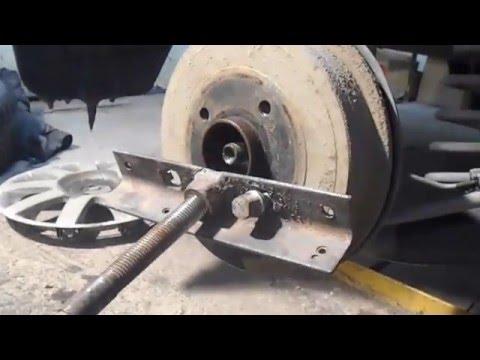 Как заменить задний подшипник ступицы на Рено Логан в гаражных условиях самому