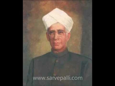 Dr. Sarvepalli Radhakrishnan: Sloka on Dharma - YouTube