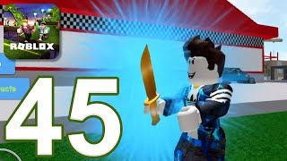 ROBLOX - Gameplay Walkthrough Parte 45 - Simulatore di coltello (iOS, Android)