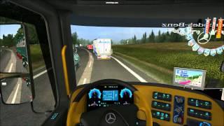 German truck simulator Trasa: Dresden Part 1