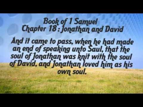 1 samuel 18 jonathan and david