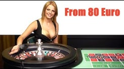 80 EURO to ???  ROULETTE ONLINE CASINO ROULETTE #24