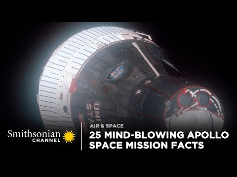 25 Mind-Blowing Facts About the Apollo Space Missions | Smithsonian Channel