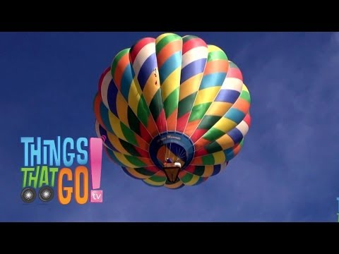 HOT AIR BALLOON: Videos for kids| children| toddlers. Preschool & Kindergarten learning.