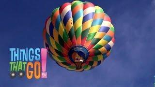 HOT AIR BALLOON: Videos for kids| children| toddlers. Preschool & Kindergarten learning.