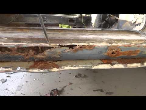 auto restoration, unacceptable work