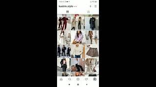 Магазин одежды женской и мужской очень качественный и стильный дизайн kaatrin style