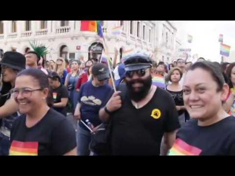 Marcha Del Orgullo Lgbt Chihuahua 2016 Youtube