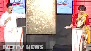 On NDTV show, Tariq Bukhari refuses to share stage with Taslima Nasreen