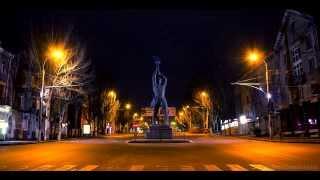 Lugansk city Timelapse