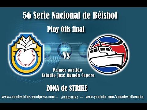 Primer partido de la final entre Granma y Ciego de Ávila, 56 SNB