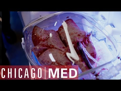 Dr Rhodes Takes The Lead On A Lung  Transplant | Chicago Med