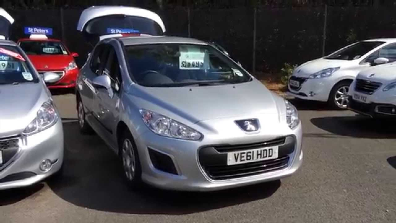 2012 Peugeot 308 5 Door 1 4 Access Ve61 Hdd At St Peters