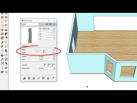 How to make pillow with sketchup by SketchupBlog