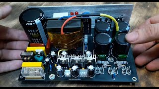 800W HalfBrigde SMPS Final Version For AUDIO, Full Protect With Over Current and SC Protect.