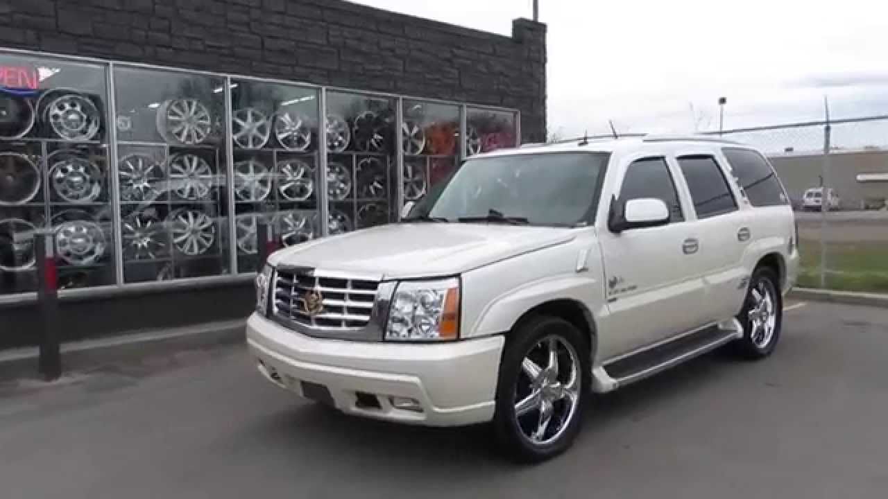 Hillyard Wheels 2005 Cadillac Escalade With Custom 22 Inch