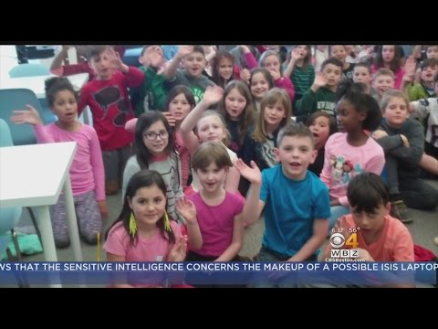 WBZ-TV Weather School Visits: Cove Elementary School in Beverly, MA