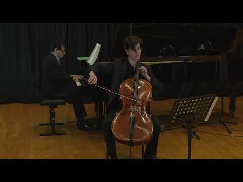 Sonata No 1 In E Minor Op. 38 For Cello & Piano (Johannes Brahms)